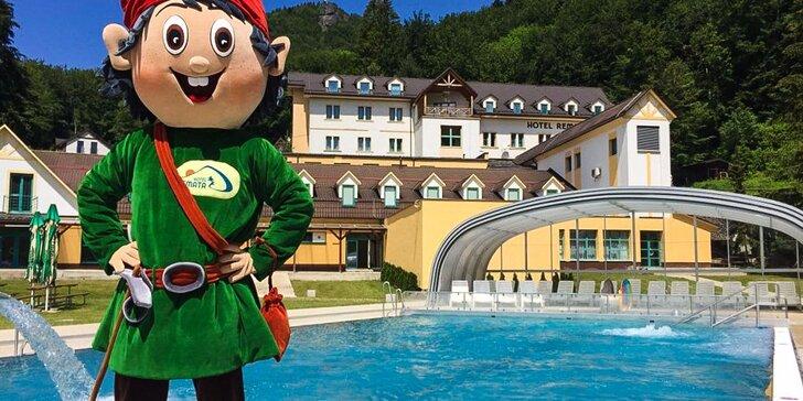 Nádherný letný wellness pobyt v Hoteli Remata*** s maskotom Bralkom
