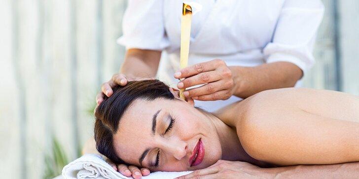 Jedinečná relaxácia s telovými alebo ušnými biosviečkami