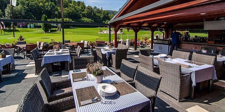 Skvelé denné menu a golf na Alpinke