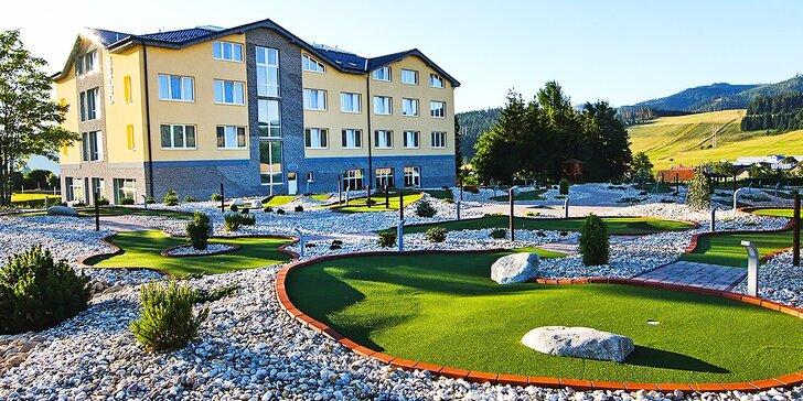 Letná wellness dovolenka pre dvoch pod Vysokými Tatrami v novom hoteli Končistá ****
