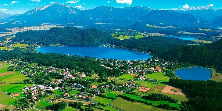Jedinečná dovolenka v Rakúsku pri jazere s 29 stupňovou vodou iba 3 hodiny od Bratislavy, dieťa do 12 rokov zdarma