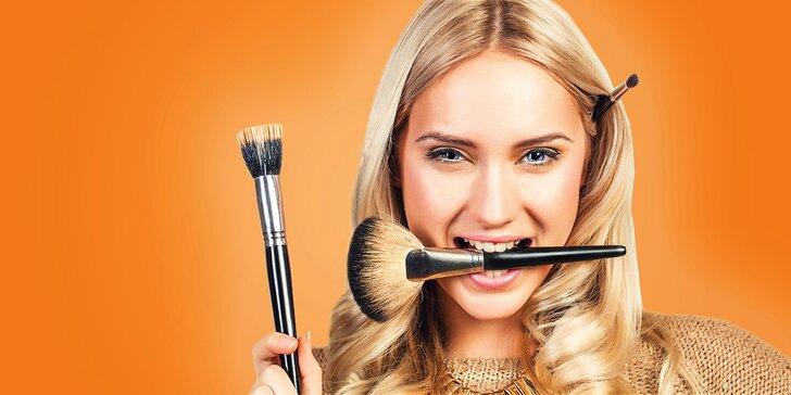 Exkluzívny kurz ľahkého letného sebalíčenia - každé ráno make up ako od profesionála