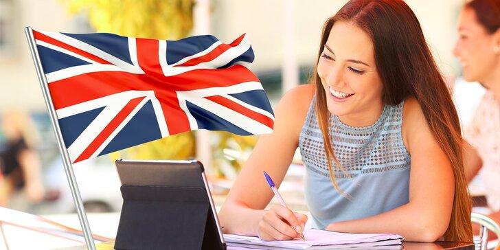 Online jazykový kurz angličtiny na 1, 2 alebo 4 roky