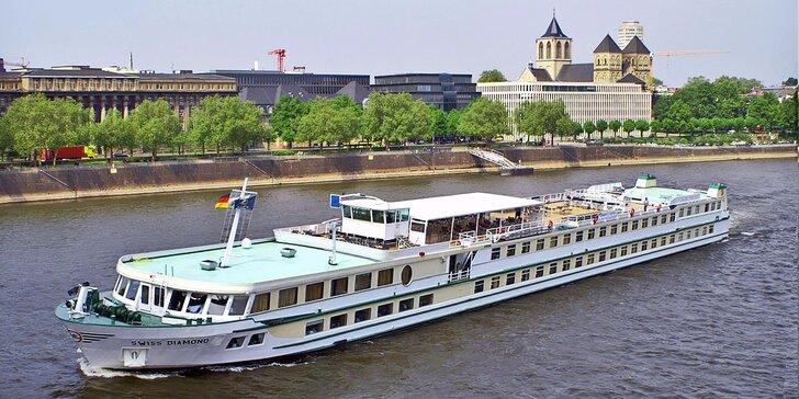 Ubytovanie na luxusnej lodi po Dunaji s plnou penziou a wellness priamo na palube