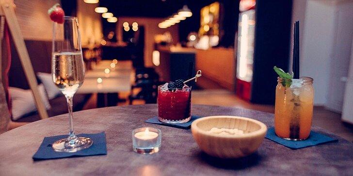 Miešané alko a nealko cocktaily v Only Bar Prešov