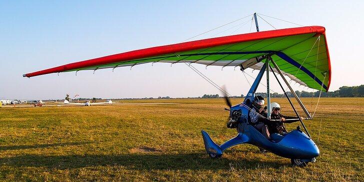 Darujte zážitok na celý život! Poznávacie lety rogalom ponad Nitru a okolie