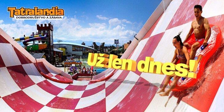 Zábava počas celej JESENE! Celodenný vstup do najväčšieho aquaparku v halloweenskom štýle s možnosťou surfovania na umelých vlnách