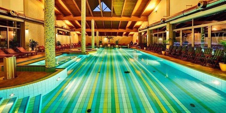 Pobyt v luxusných zruboch pre 10 osôb so vstupom do exkluzívneho vodného sveta Hotela Bystrá***