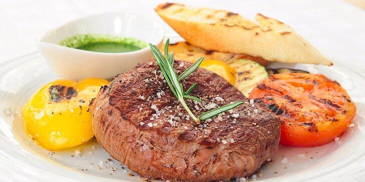 Iron steak s prílohou špeciálne pre Zľavomaťákov!