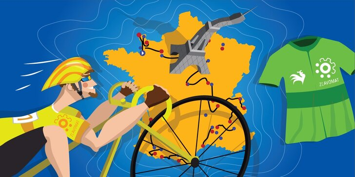Súťaž ZľavomaTOUR! Vyhrajte kredity a prebicyklujte sa až do Francúzska!