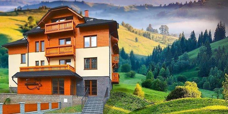 Leto v luxusných apartmánoch na Kysuciach pre 2 až 4 osoby