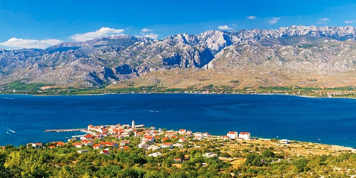 Luxusná vila Dalmatínka priamo pri mori - Paklenica Chorvátsko