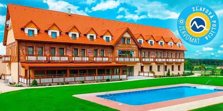 Exkluzívny letný pobyt v novom Hoteli Malvázia**** s wellness, bazénom a vonkajším komplexom s parkom, so športoviskami a jazerom na člnkovanie