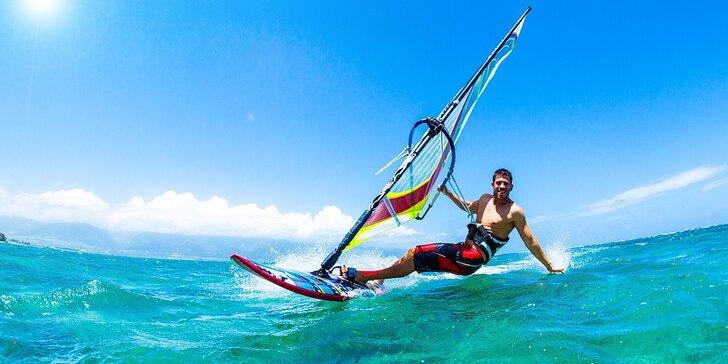 Kurz Windsurfingu alebo Stand Up Paddle na Dunaji