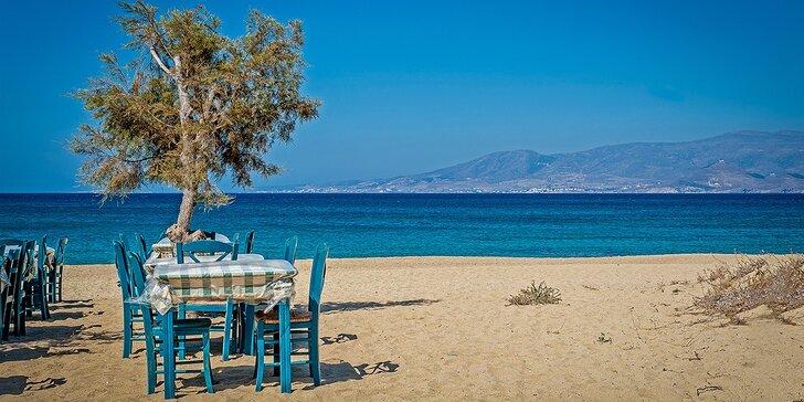 Letná dovolenka v Grécku s polpenziou v Hoteli Niko Paradise. Iba 100m od pláže!