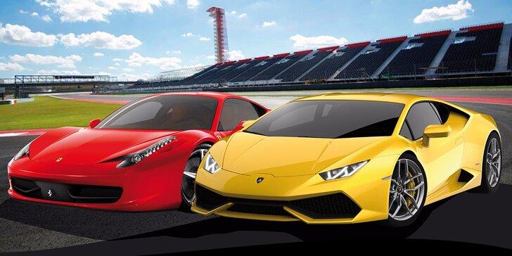Jazda na Ferrari a Lamborghini! Najnovšie modely – iba u nás!