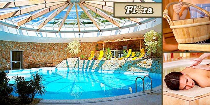 3 alebo 4 dňový wellness pobyt v hoteli Flóra v Dudinciach