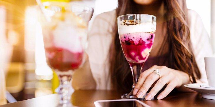 Zmrzlinový pohár Malinový bozk vo Hviezde