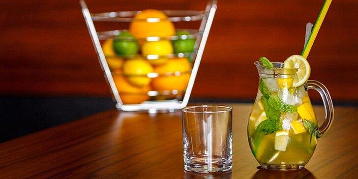 Osviežujúce a skvelo chutiace limonády v džbániku, alko a nealko miešané nápoje