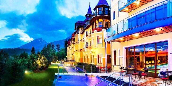Exkluzívny wellness pobyt v Grandhoteli Praha**** v Tatranskej Lomnici