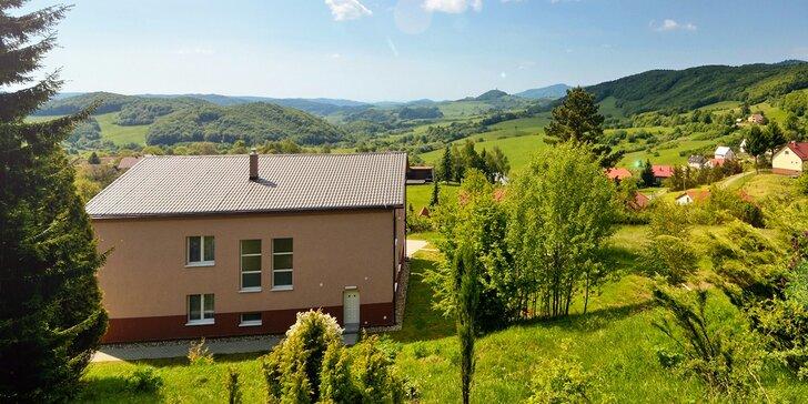 Wellness pobyt v prírodnom prostredí Štiavnických vrchov v komfortnej Ville ŽAKÝL