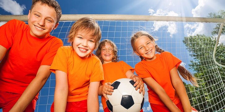 Letný športový tábor pre deti od 7 do 16 rokov