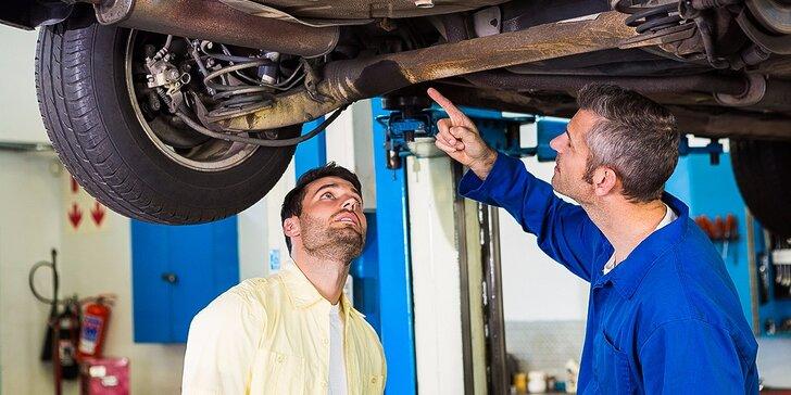 Nech autíčko poslúcha! Výmena oleja, dezinfekcia klímy a diagnostika auta
