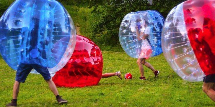 Zorbing futbal: vyskúšajte túto super bláznivú zábavu