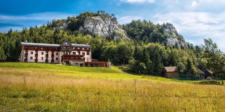 Jedinečný wellness pobyt v horskom prostredí Veľkej Fatry, ideálne na relax aj turistiku