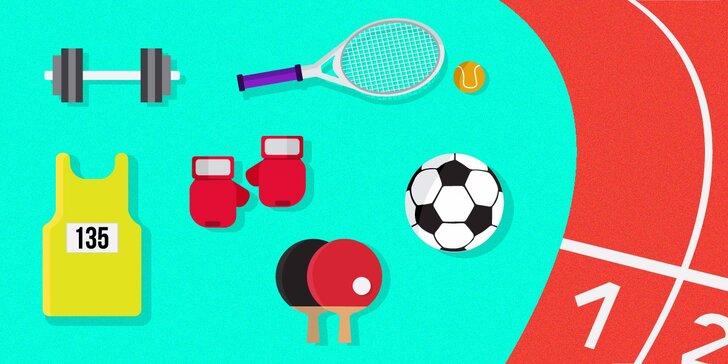 Súťaž Zľavomiáda! Nájdite športovú disciplínu a vyhrajte kredity!
