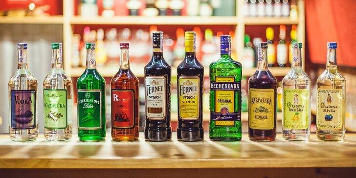 ALL YOU CAN DRINK alebo 4 panáky v Aligator Crystal Rock Pub