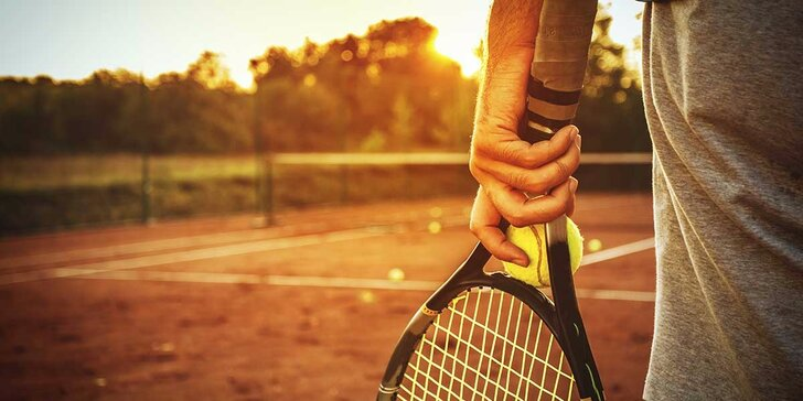 Hodinový prenájom tenisového kurtu v novootvorenom T&J tennis club