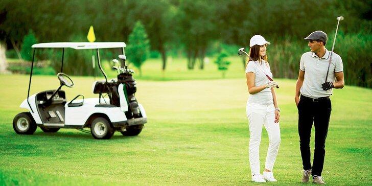 2 alebo 3 dni plné golfu či adventure golfu nielen pre úplných začiatočníkov pod Ještědom