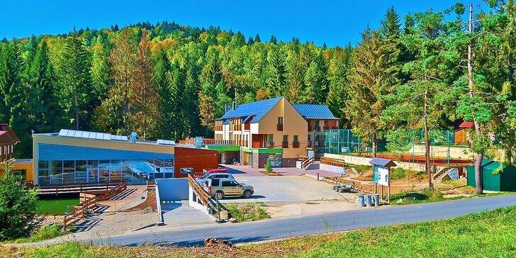 Rodinná wellness dovolenka v hoteli Čertov*** v prekrásnom prírodnom prostredí Javorníkov. Deti do 12 rokov ubytovanie za zvýhodnených podmienok!