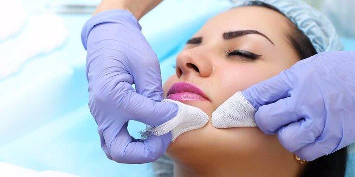 Hĺbkové hydratačné ošetrenie na omladenie pleti, shakerová masáž s anti-age účinkom alebo úprava obočia aj s farbením mihalníc