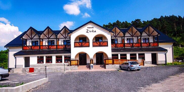 Pobyt v penzióne Zivka s možnosťou celodenného vstupu do aquaparku Tatralandia