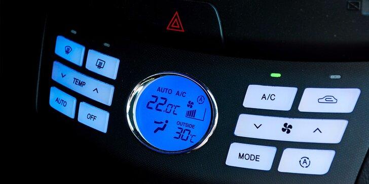 Plnenie a servis klimatizácie vozidla plus dezinfekcia klimatizácie a interiéru