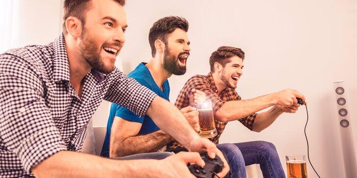 Playstation, pivko a drinky pre pohodový večer