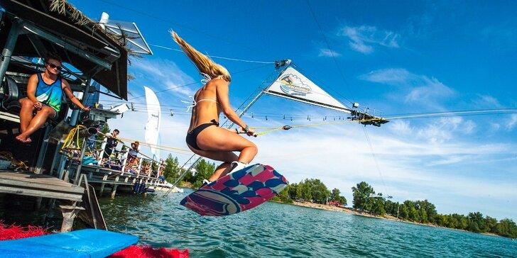 3-hodinový lístok na wakeboarding na Zlatých pieskoch