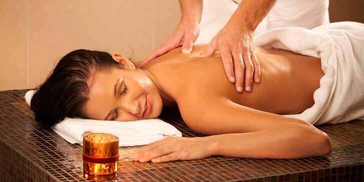 Japonská, klasická, športová, kokosová či mandľová masáž - v ponuke aj lávové kamene!