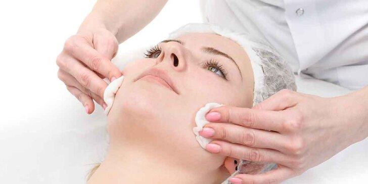 Ošetrenie pleti s dvoma masážami a izraelskou kozmetikou Christina