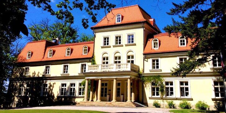 Spomaľte! Rozprávkový pobyt v luxusnom panskom sídle - len 20 km od Krakova!