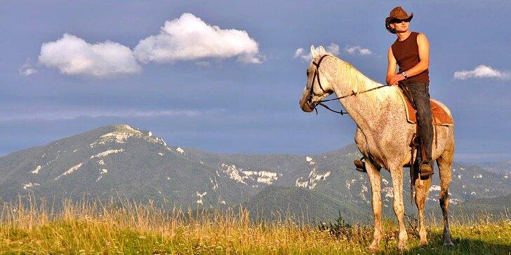 Doprajte si relax v nádhernej prírode, v pokoji a pohode na Ranchi Amadeus s jazdou na koni