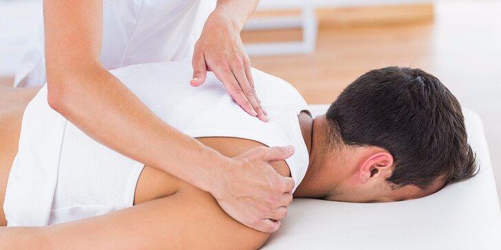 Čínska akupresúrna masáž Tui-na alebo masáž lávovými kameňmi s bankovaním