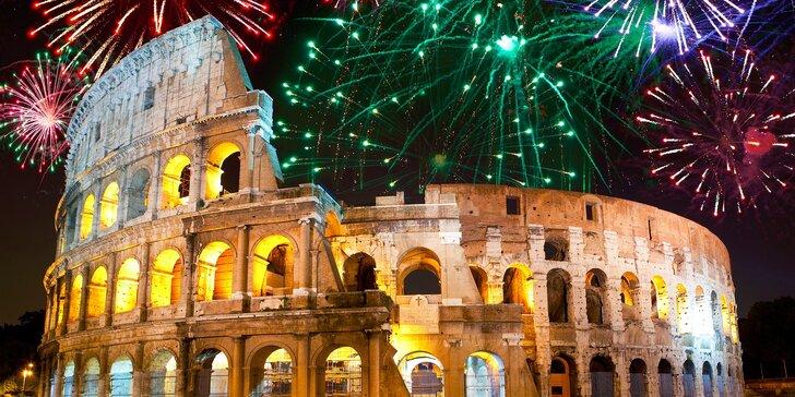 Originálny Silvester v Ríme, 5-dňový poznávací zájazd so sprievodcom, ubytovaním a raňajkami