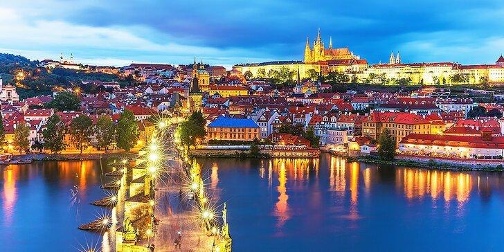 Pobyt pre 2 osoby s raňajkami priamo v centre Prahy v Hoteli U Svatého Jana***