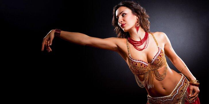 Trojmesačný kurz brušného tanca pre začiatočníkov v Akadémii ANORA vrátane 3 workshopov