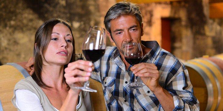 Pivnica plná vína - voľná ochutnávka ľubovoľného množstva vín aj s výkladom sommeliera