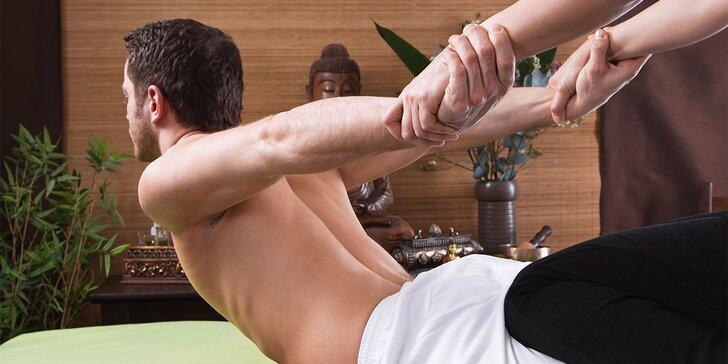 Jesenný relax s tradičnými thajskými masážami. V ponuke romantická párová masáž s pedikúrou garra rufa a thajský balíček