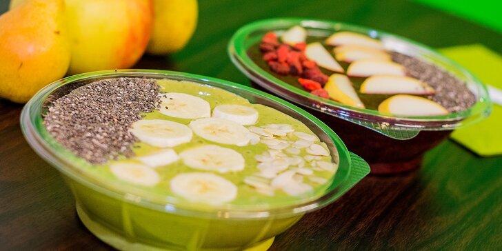 Zdravá a fresh SMOOTHIE miska v Barbell Smoothie Bare